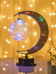 cheap -Moon Decoration Light LED Night Light Creative Bedside Romantic Ramadan Festival New Year's AAA Batteries Powered