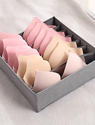 cheap -Underwear Storage Box Drawer Type Mesh Panties Socks Storage Box Household Folding Separation Bra Storage Box 32*32*10cm