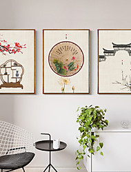 cheap -One Panel Decoration Painting Nonwoven Landscape Pictures for Walls Stretched Frame Ready to Hang