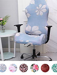cheap -Ergonomic Office Computer Game Chair Slipcovers Floral Stretchy Polyester Covers for Reclining Racing Gaming Gaming Chair (No Chair)