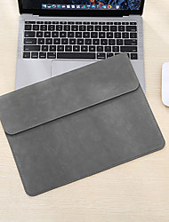 cheap -HL0005-014 12 Inch Laptop / 13.3 Inch Laptop / 13 Inch Laptop Sleeve PU Leather Solid Color Unisex Waterpoof Shock Proof