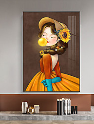cheap -One Panel Decoration Painting Nonwoven People Pictures for Walls Stretched Frame Ready to Hang