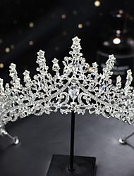 cheap -A036 Wedding Crown Bridal Headdress Wedding Hair Accessories Wedding Headdress Princess Birthday Crystal Queen Crown
