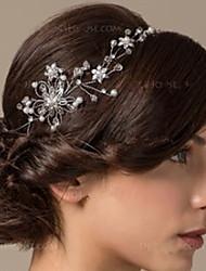 preiswerte -Ethnischer Stil Strass / Aleación Kopfschmuck / Kopfbedeckung mit Funkelnder Glitzer / Kristall / Strass / Bedruckt 1 PC Hochzeit Kopfschmuck