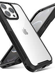 cheap -Phone Case For Apple Back Cover Bumper iPhone 13 Pro Shockproof Dustproof Translucent Transparent Acrylic PC