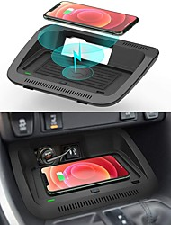 cheap -Car Qi Wireless Wireless Charger for Toyota RAV4 Accessories 2021 2020 2019 OEM Style Wireless Phone Charging Pad for Toyota RAV4 LE/XLE/TRD/Off-Road/XSE/SE/XSE Car Interior Accessories Upgrades
