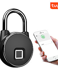 cheap -HS-P22+ Zinc Alloy Fingerprint Padlock Smart Home Security System Fingerprint unlocking / APP unlocking / Bluetooth unlocking Home / Office / School / Hotel Others (Unlocking Mode Fingerprint / APP)