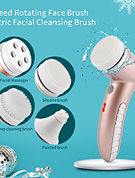 cheap -4 IN 1 Electric Facial Cleansing Instrument Face Deep Cleaning Machine Skin Rejuvenation Blackhead Remove Beauty Device Massager