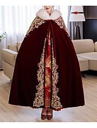 cheap -Sleeveless Elegant / Sweet Faux Fur / Velvet Wedding / Party / Evening Shawl & Wrap / Shawls / Women's Wrap With Appliques / Lace-up / Paillette