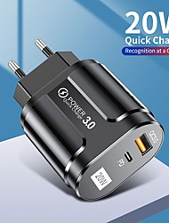 cheap -20 W Output Power USB USB C Fast Charger Portable Charger Fast Charge For iPad Cellphone 1 PC