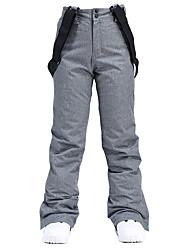 cheap -Men's Ski / Snow Pants Ski Bibs Thermal Warm Waterproof Windproof Breathable Winter Bib Pants for Snowboarding Ski Mountain / Cotton / Women's