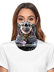 cheap -Women's Face cover Spandex Basic Halloween PrintMask Fall Winter Spring Summer Unisex