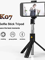 cheap -Selfie Stick Bluetooth Extendable Max Length 70 cm For Universal Android / iOS