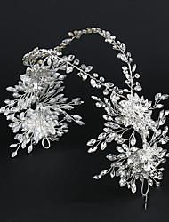 cheap -Fairy Hair Hoop Headdress Sweet Wedding Bridal Headdress Alloy Handmade Rhinestone Hair Accessories Dress Accessories