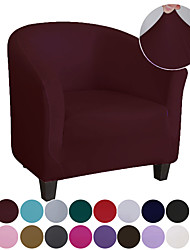 cheap -Club Chair Slipcover Stretch Armchair Covers 1-Piece Club Tub Chair Covers Sofa Cover Couch Furniture Protector Cover Jacquard Spandex Couch Covers for Living Room