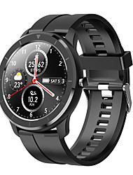 cheap -iMosi T6 Smartwatch Fitness Running Watch Bluetooth Pedometer Sleep Tracker Heart Rate Monitor Message Reminder Call Reminder IP68 45mm Watch Case for Android iOS Men Women