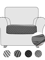 cheap -High Stretch Houndstooth Printed Seat Cushion Cover Sofa Cushion Furniture Protector fot Sofa Seat Sofa Slipcover Sofa Cover Soft Flexibility with Elastic Bottom