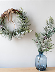 cheap -Christmas Wreath Door Hanging Decoration Christmas Cane Cutting Scene Layout Christmas Decorations