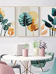 cheap -Wall Art Canvas Poster Painting Artwork Picture Floral Botanical Home Decoration Dcor Rolled Canvas No Frame Unframed Unstretched