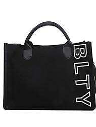 cheap -Women's Bags Canvas Top Handle Bag Date Going out Handbags Khaki White Black