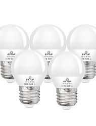 cheap -5pcs 6 W LED Globe Bulbs 550 lm E27 G45 20 LED Beads SMD 2835 Decorative Warm White Cold White 110-130 V