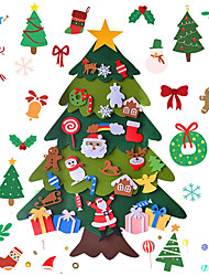 cheap -manufacturers supply felt christmas tree children diy christmas tree felt holiday decoration gift pendant spot can be set