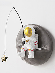 cheap -Spaceman Rocket Astronaut Model Room Wall Decoration Tv Background Wall Pendant Porch Wall Decoration