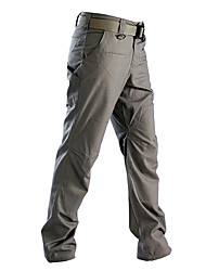 cheap -Men's Work Pants Tactical Cargo Pants Windproof Quick Dry Breathable Sweat-Wicking Winter Spring Autumn Solid Color Cotton Bottoms for Camping / Hiking Hunting Combat Grey khaki Green S M L XL XXL
