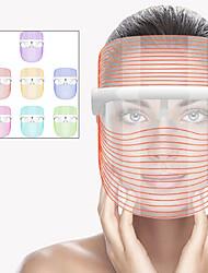 cheap -3/7 Colors LED Light Beauty Face Mask Instrument Spa Photon Therapy Moisturizing Whitening Skin Rejuvenation Mask Instrument