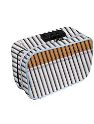 cheap -Unisex Bags Oxford Cloth Tobacco Pouch Zipper Daily 3D Print White
