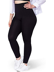 cheap -High Waisted Medium Compression Leggings Shapewear for Women Breathable Body Shaper Sweat Butt Lifter Shapewear for Fitness Exercise Sports