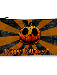 cheap -Pencil pen Case box back to school gift Halloween offcie Plaid Simple Stationery Bag Holder zippe 18*10.5cm