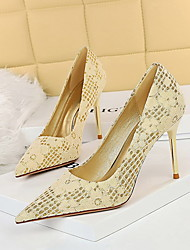 cheap -869-9 korean fashion banquet high-heeled shoes women's shoes stiletto high-heeled shallow mouth pointed toe sequined cloth flower single shoes