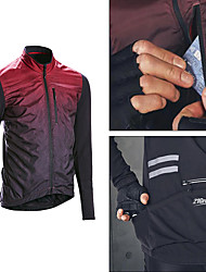 cheap -21Grams FIT Men's Long Sleeve Cycling Jacket Fleece Cycling Jersey  Running Jacket Windbreaker Winter Polyester Coat Top Thermal Warm Windproof Quick Dry Sports Black Red Clothing Apparel Bike Wear