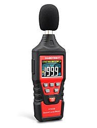 cheap -HABOTEST HT622B Digital Decibel Meter with USB Port A/C Weighted Sound Level Meter LCD Color Screen Noise Sound Detector