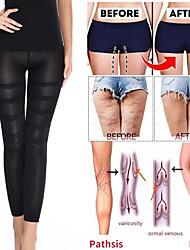 cheap -Compression Leggings Leg Slimming Body Shaper High Waist Tummy Control Panties Thigh Sculpting Slimmer
