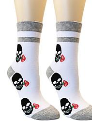 cheap -Fashion Comfort Women's All Socks Cartoon Socks Casual Socks Medium Halloween White 1 Pair