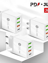 cheap -36 W Output Power USB PD Charger Fast Charger Portable QC 3.0 Fast Charge CE Certified For Cellphone 1 PC