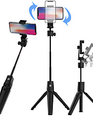 cheap -Selfie Stick Bluetooth Extendable Max Length 100 cm For Universal Android / iOS