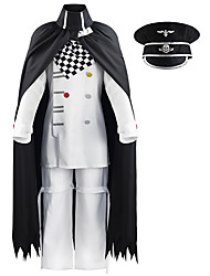 cheap -Inspired by Danganronpa V3 Tojo Kirumi Anime Cosplay Costumes Japanese Cosplay Suits Top Pants Cloak For Men's / Scarf