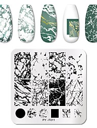 cheap -1 Pcs Animal Patterns Nail Stamping Plates Stainless Steel Nail Art Image Plate Stamp Template Stencil Tools
