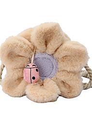 cheap -Women's Bags Faux Fur Crossbody Bag Daily 2021 Beige