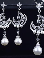 cheap -Women's Drop Earrings Necklace Earrings Classic Artistic Fashion Punk Korean Sweet Silver Plated Earrings Jewelry Silver For Street Gift Daily Work Festival 1pc