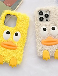 cheap -Phone Case For Apple Back Cover iPhone 13 12 Pro Max 11 SE 2020 X XR XS Max 8 7 Shockproof Dustproof Cartoon Plush