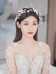 cheap -Beach Outdoor Photo Accessories Handmade Flower Styling Hair Accessories Mori Bridal Jewelry Show Headdress