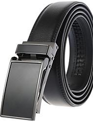 cheap -Men's Waist Belt Party Daily Black Brown Belt Pure Color