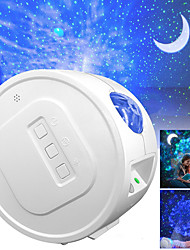 cheap -Star Projector LED Galaxy Night Light Projector Moon Stars Nebula Ocean Lamp Galaxy Projector Rotation Light