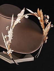cheap -Super Fairy Sweet Bride Hair Hoop Handmade Flower Wedding Headdress Beautiful Fairy Wedding Fairy Hair Accessories
