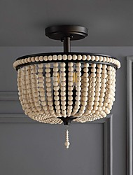 cheap -35 cm Pendant Lights LED Lantern Design Flush Mount Metal Painted Finishes Modern 220-240V