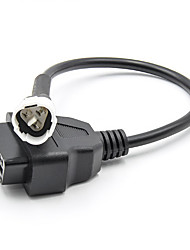 cheap -OBD Motorcycle Cable For Yamaha 3 Pin Plug Cable Diagnostic Cable 3 Pin to OBD2 16 pin Adapter
